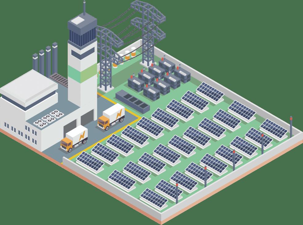 中古太陽光発電所