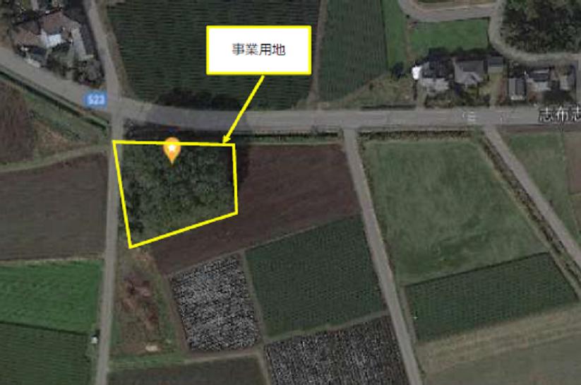 鹿児島県志布志市太陽光発電所